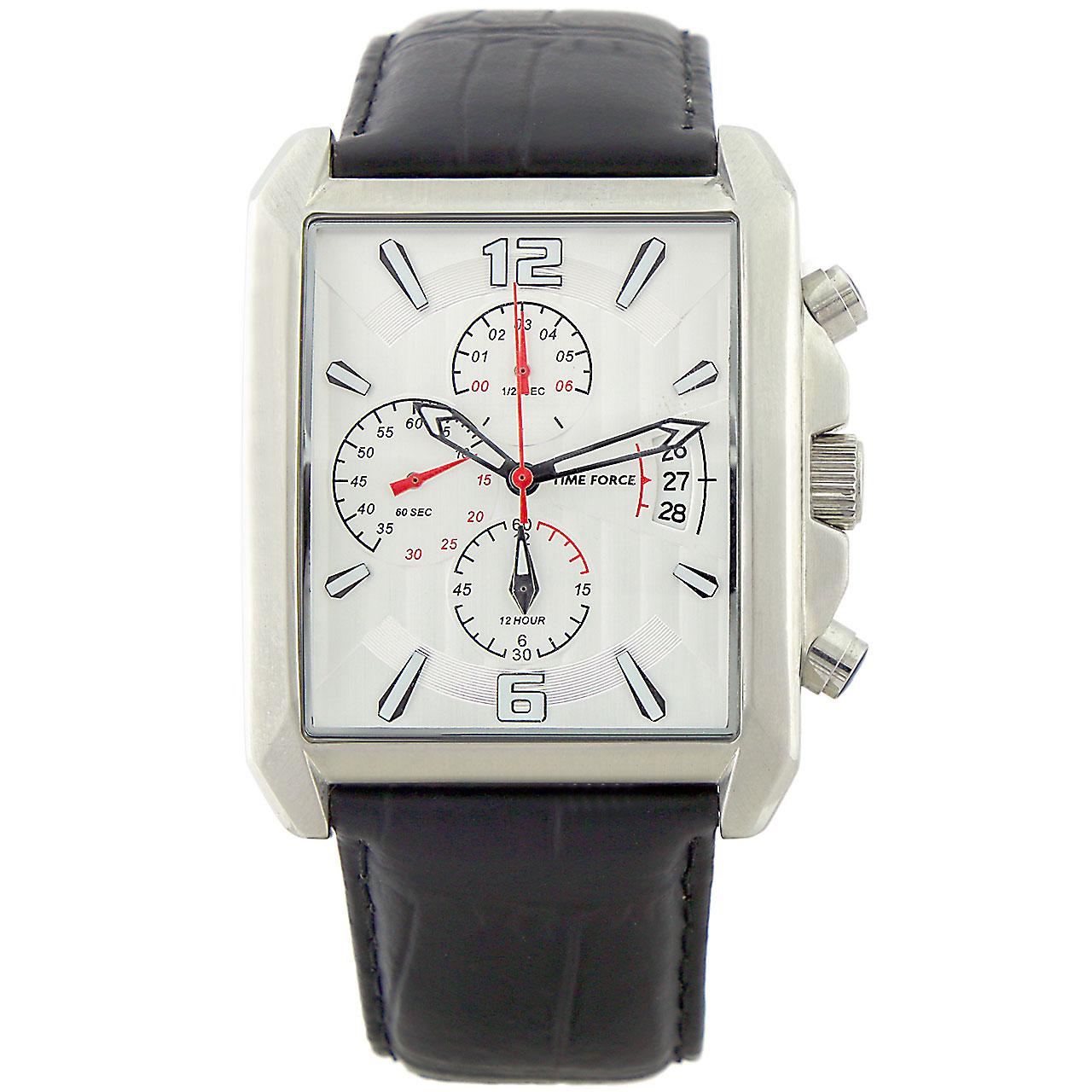 ساعت مچی عقربه ای مردانه تایم فورس مدل TF3308M02