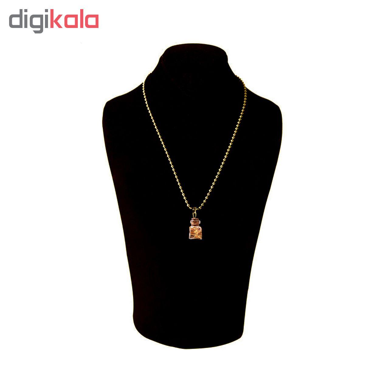 گردنبند طلا 24 عیار زنانه کد 1322