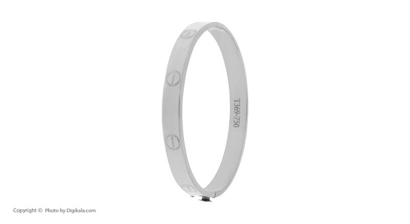 دستبند النگویی طلا 18 عیار زنانه یو استار مدل ALK10-1
