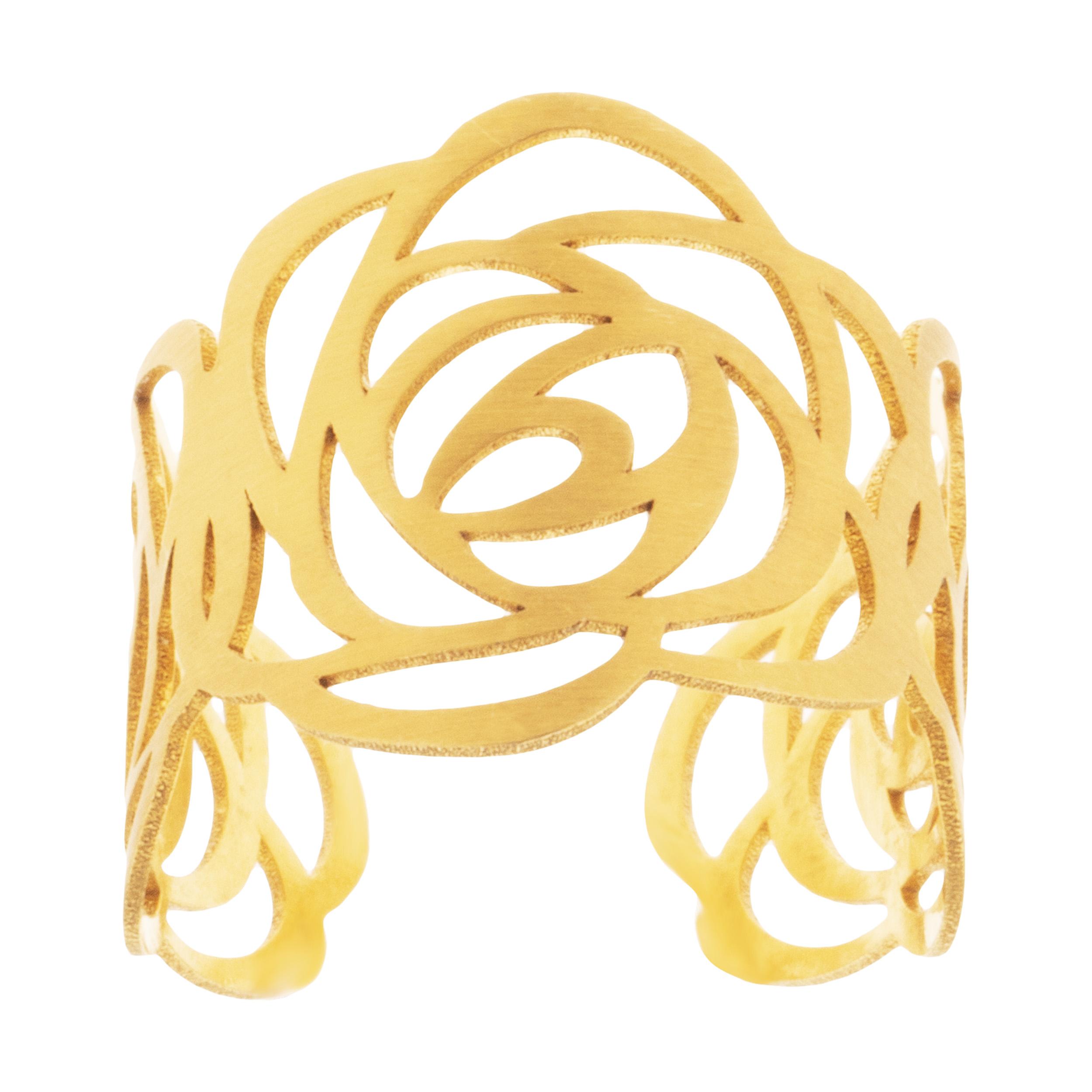 انگشتر طلا 18 عیار زنانه میو استار مدل RG11