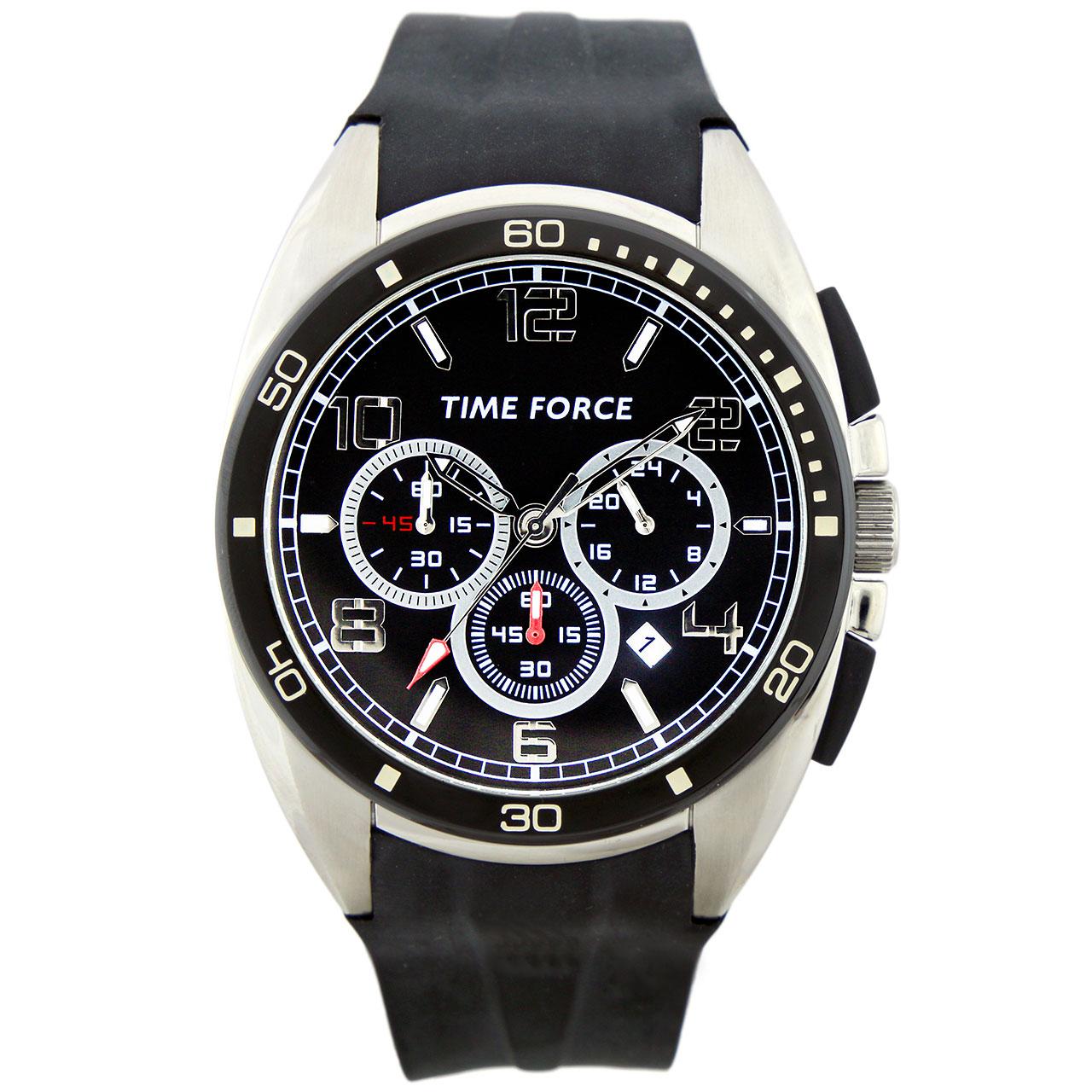 ساعت مچی عقربه ای مردانه تایم فورس مدل TF3315M01