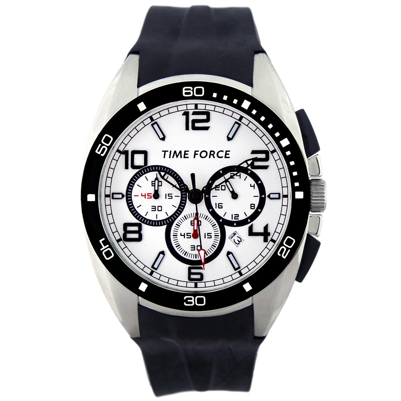 ساعت مچی عقربه ای مردانه تایم فورس مدل TF3315M02