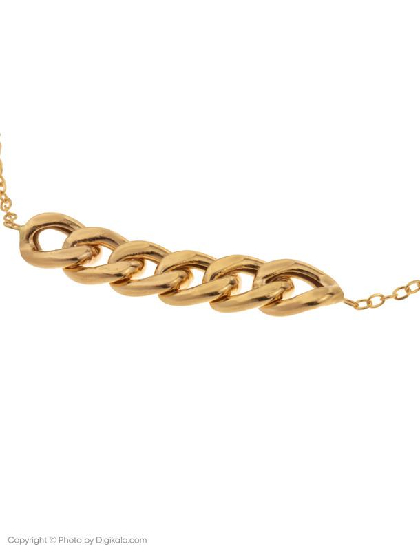 دستبند طلا 18 عیار زنانه میو استار مدل BC58
