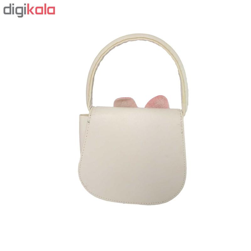 کیف دستی دخترانه طرح rabbit کد 0019
