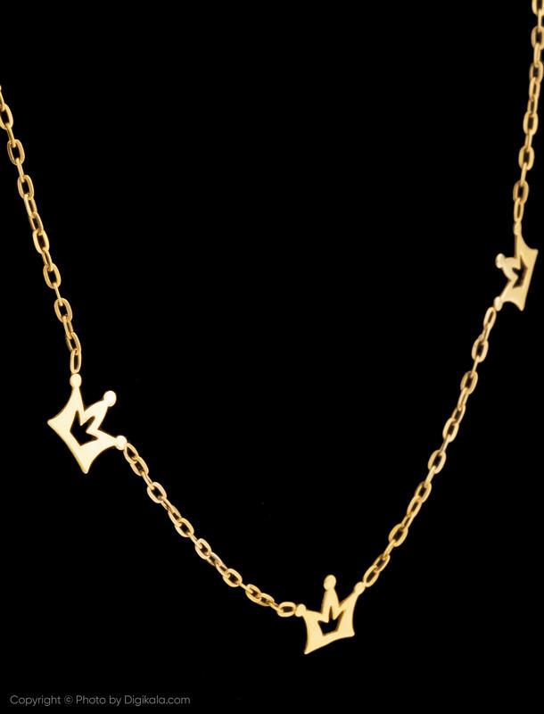 گردنبند طلا 18 عیار زنانه میو استار مدل NC115