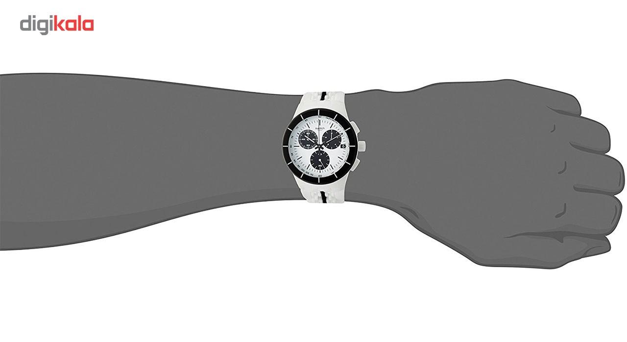 ساعت مچی عقربه ای مردانه سواچ مدل SUSW407 -  - 5