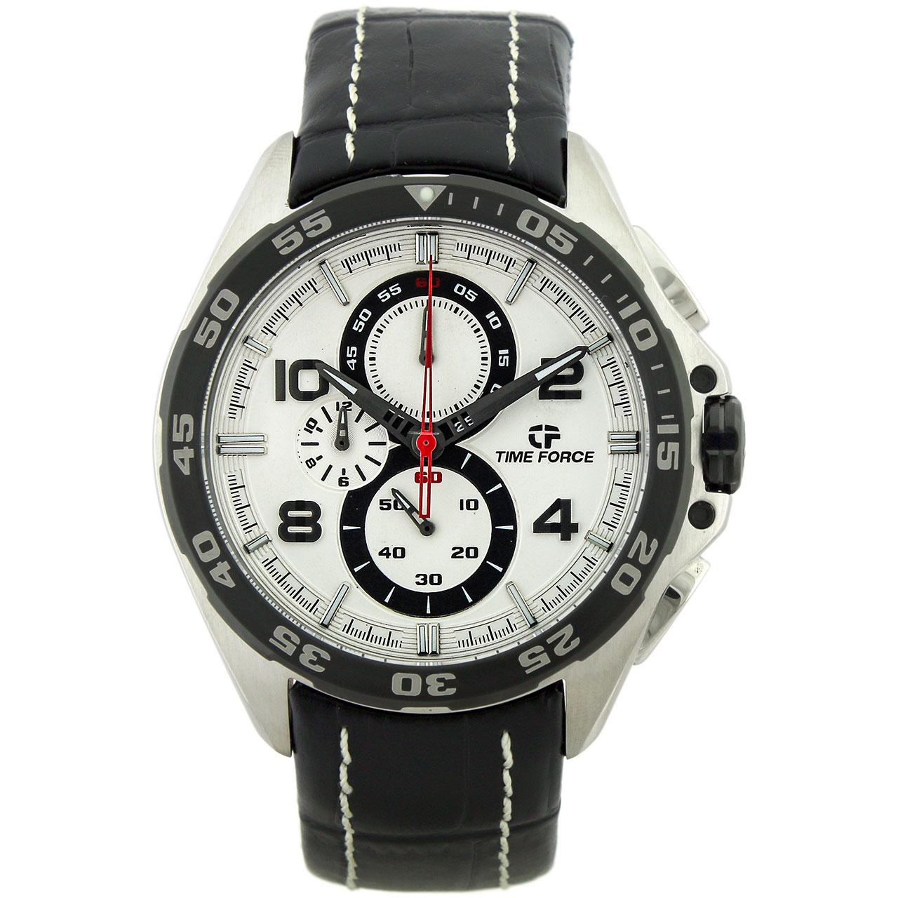 ساعت مچی عقربه ای مردانه تایم فورس مدل TF3328M02