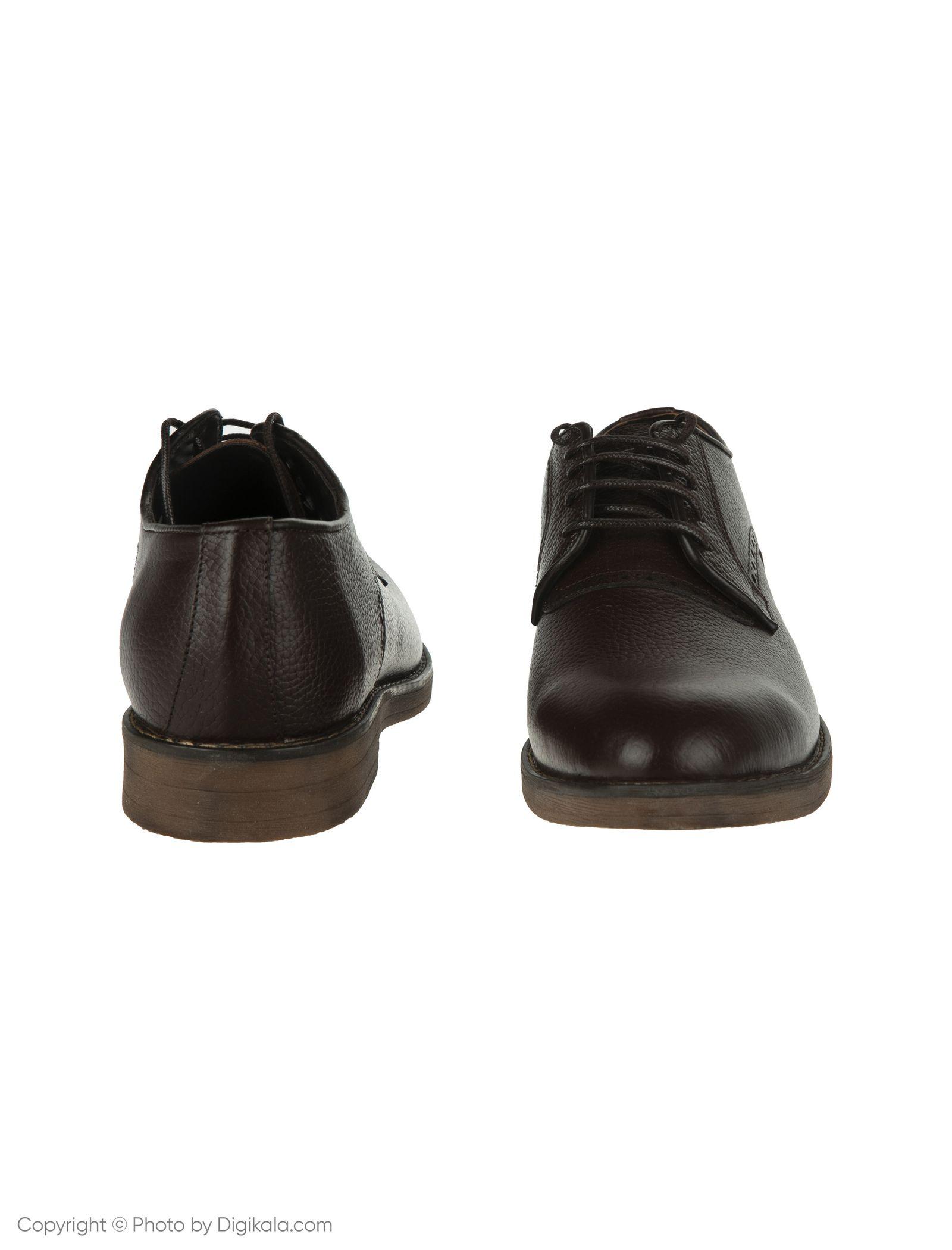 کفش مردانه ساتین مدل SN7175A-104 -  - 4