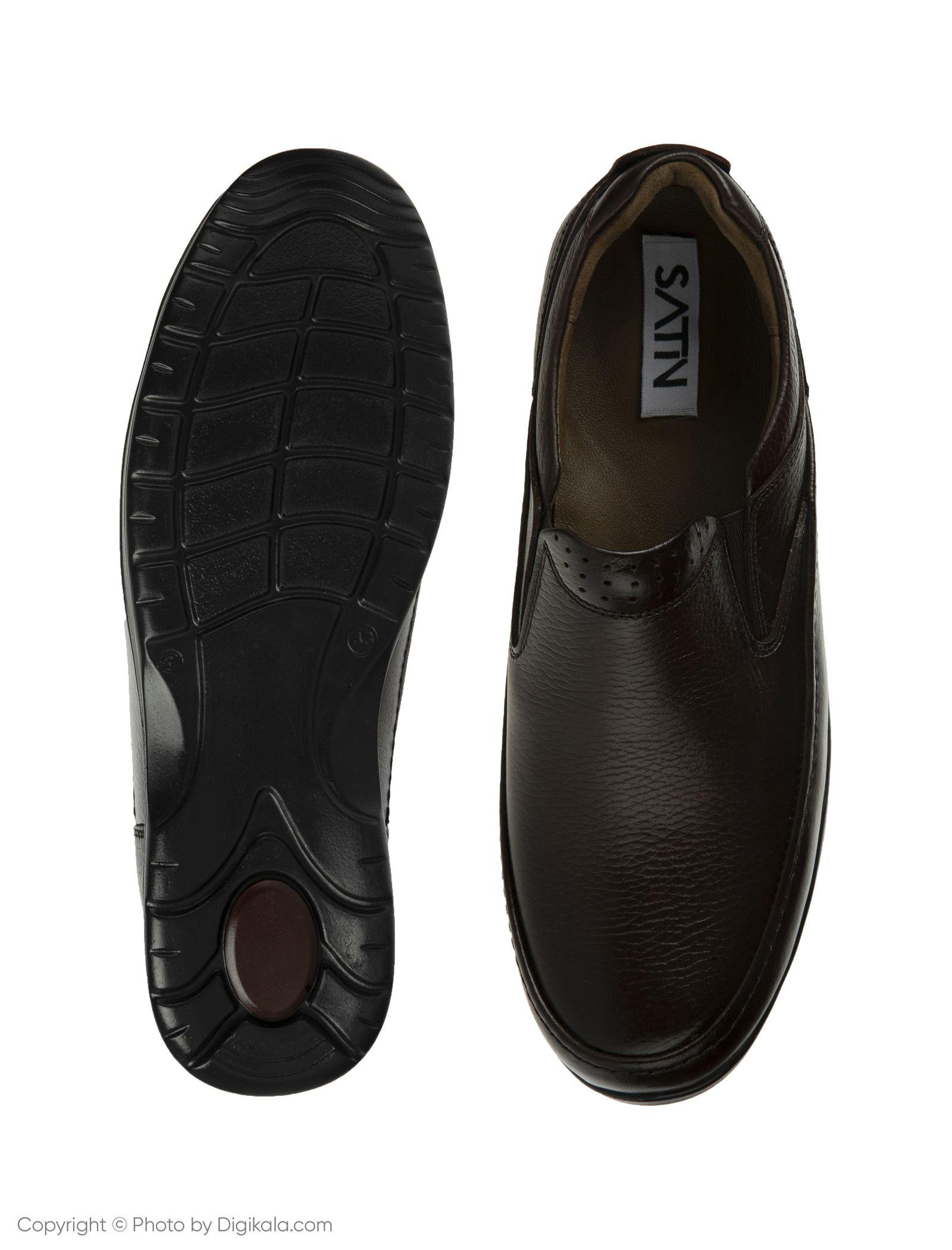 کفش روزمره مردانه ساتین مدل SN7172A-104 -  - 5
