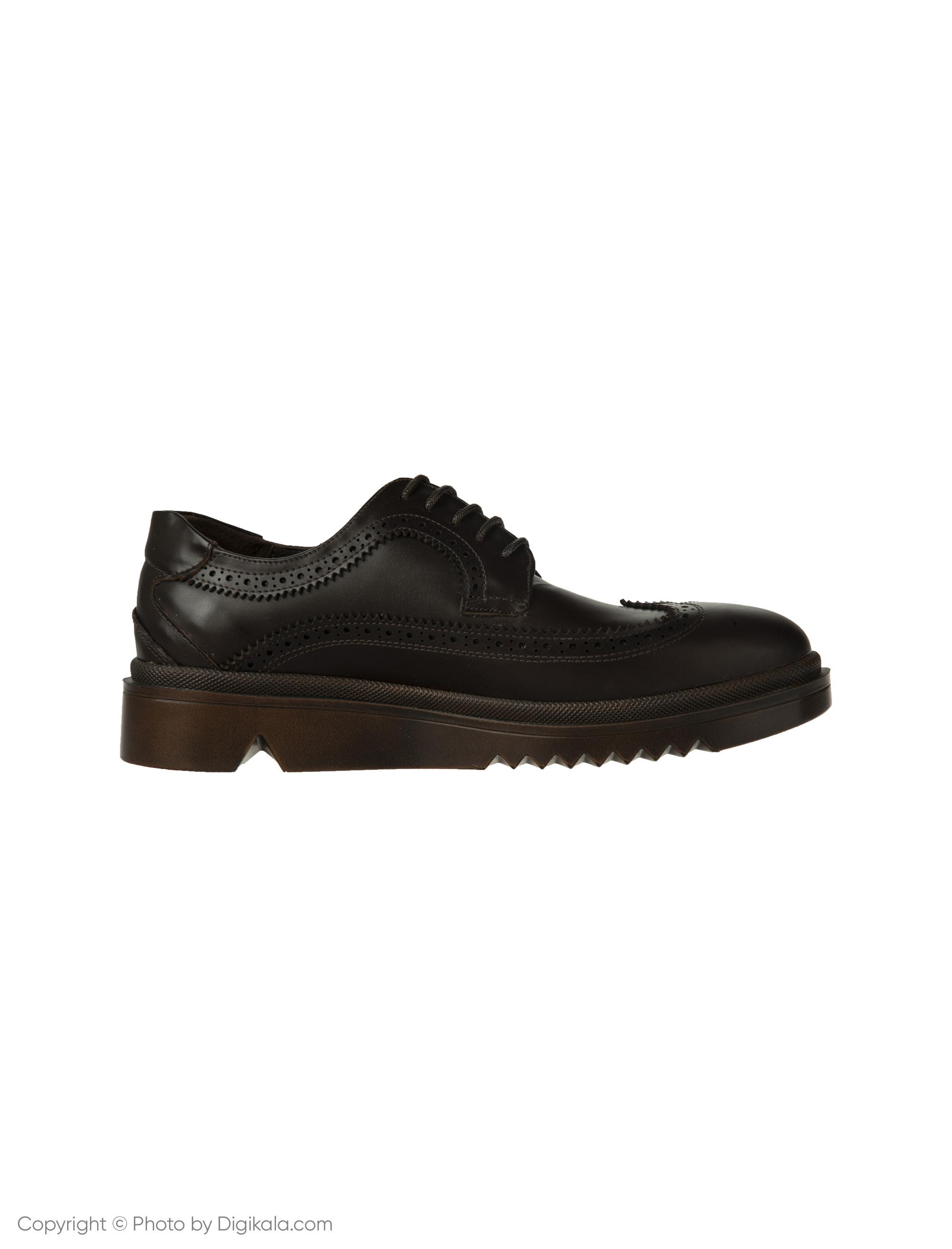 کفش مردانه ساتین مدل SN7160B-104