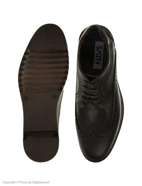 کفش مردانه ساتین مدل SN7160B-104 -  - 5