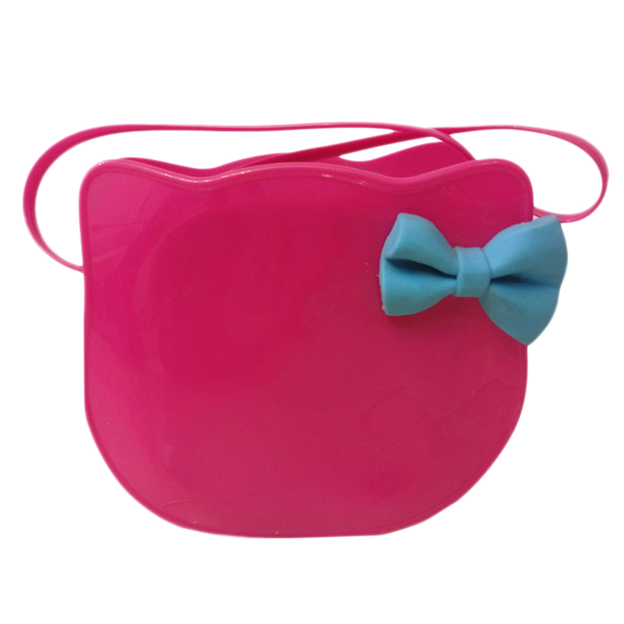 کیف دوشی دخترانه طرح کیتی مدل zip212