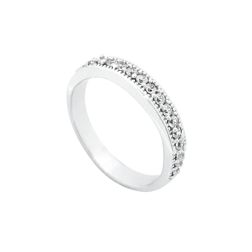 قیمت انگشتر نقره زنانه کد R143P-tak