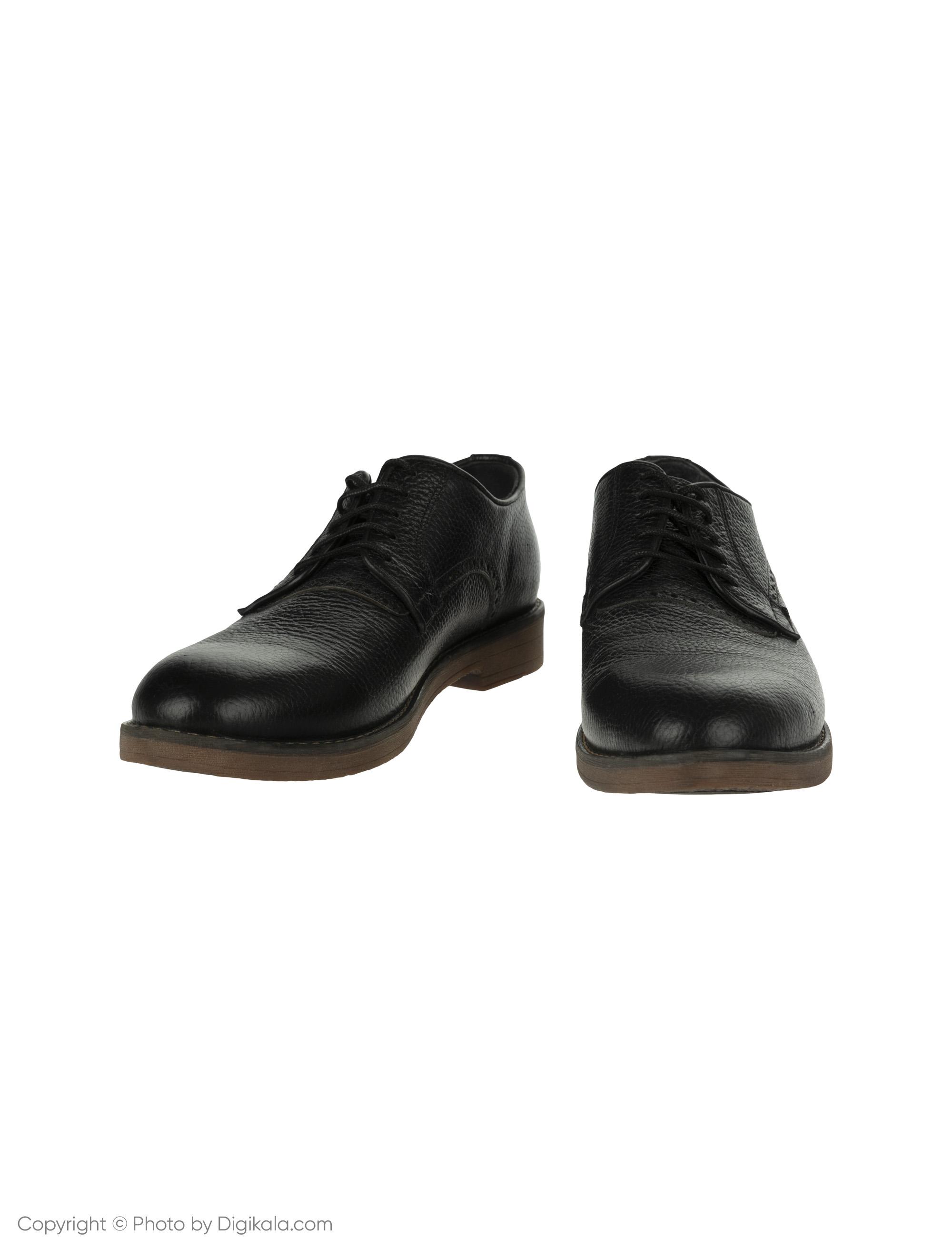 کفش مردانه ساتین مدل SN7175A-101 -  - 3