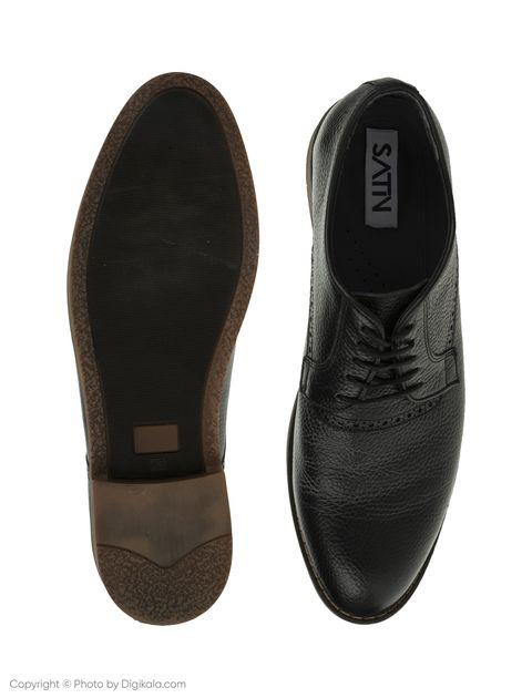 کفش مردانه ساتین مدل SN7175A-101 -  - 5