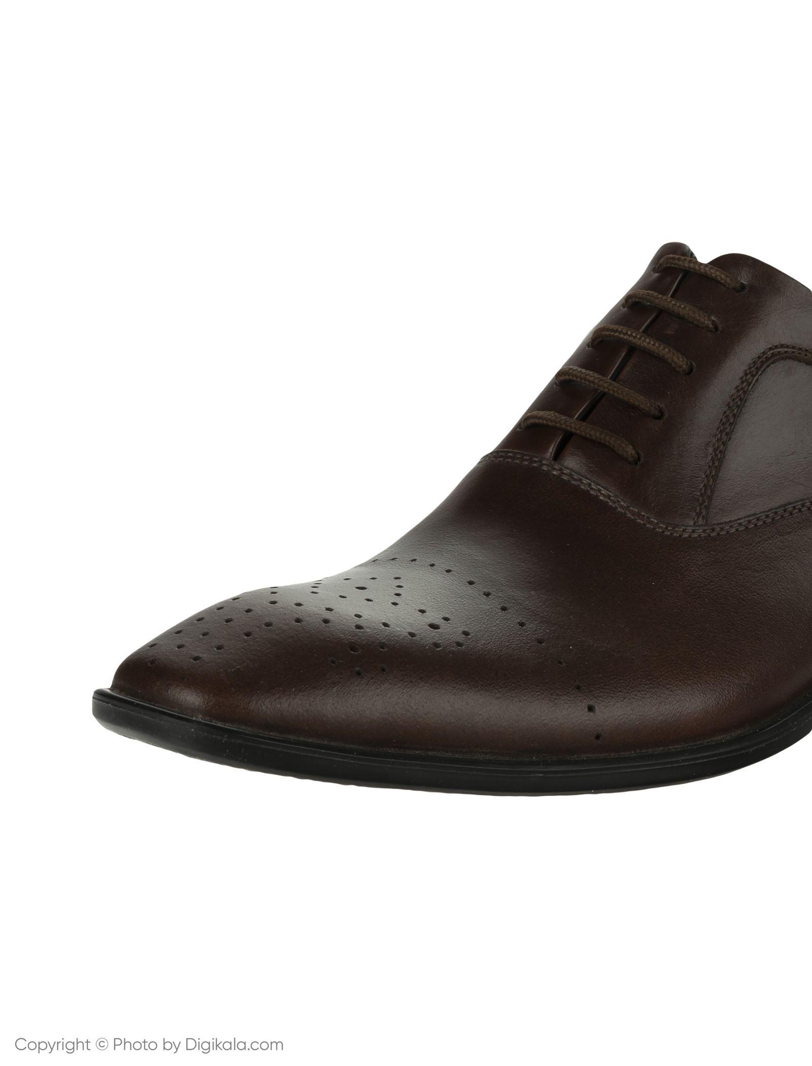 کفش مردانه ساتین مدل SN7093A-104 -  - 6