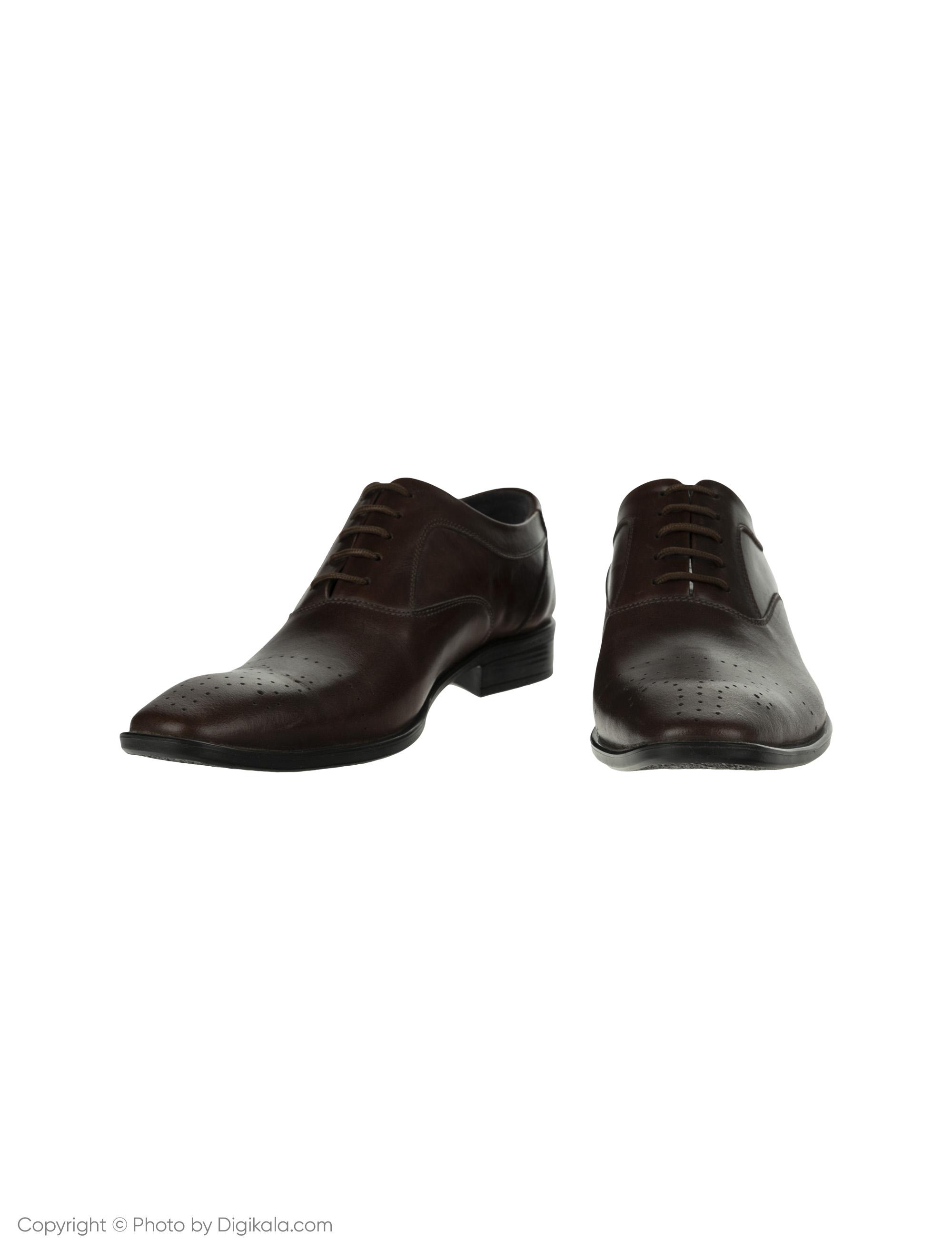کفش مردانه ساتین مدل SN7093A-104 -  - 3