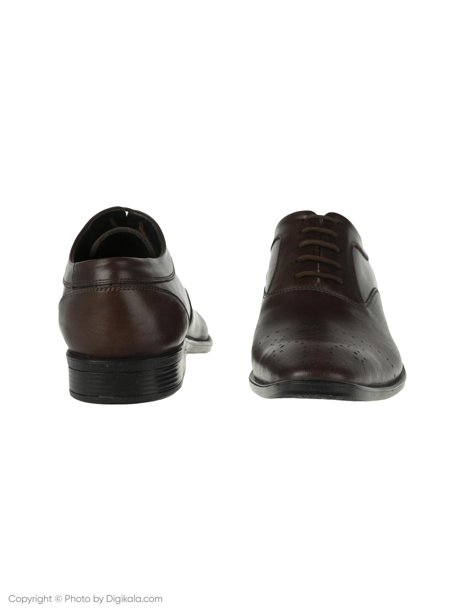 کفش مردانه ساتین مدل SN7093A-104 -  - 4