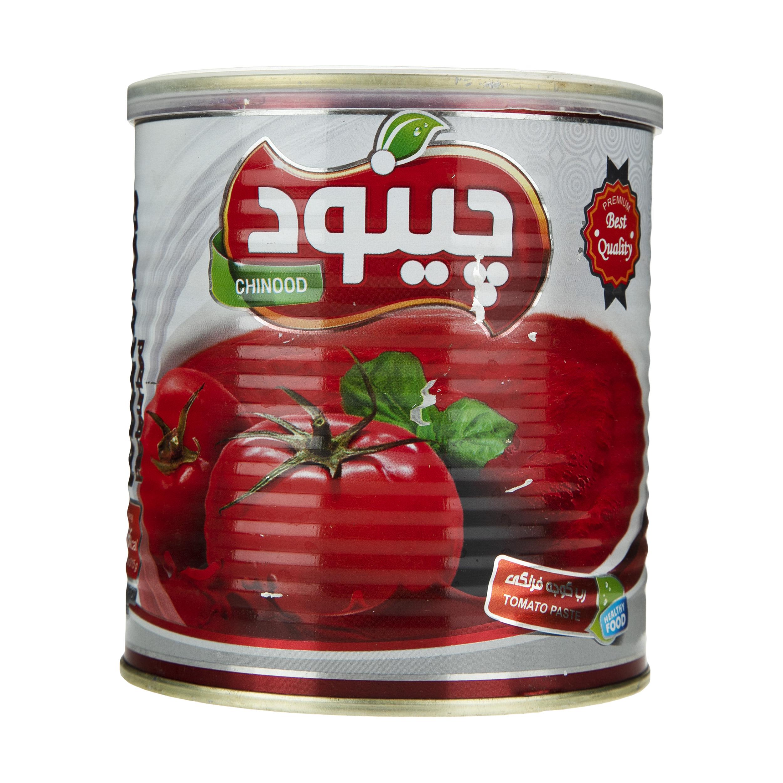رب گوجه فرنگی چینود وزن 800 گرم