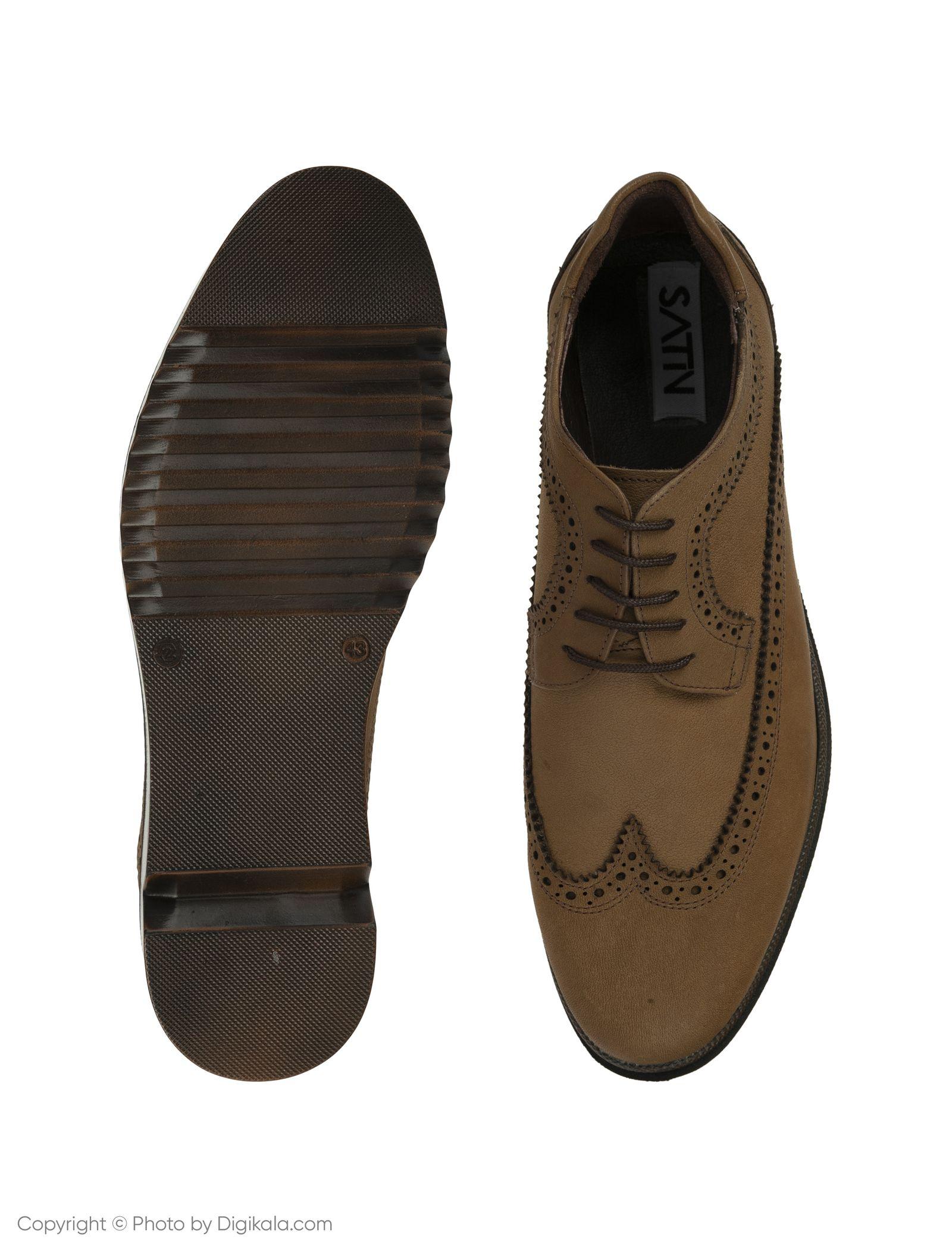 کفش مردانه ساتین مدل SN7160B-134 -  - 5