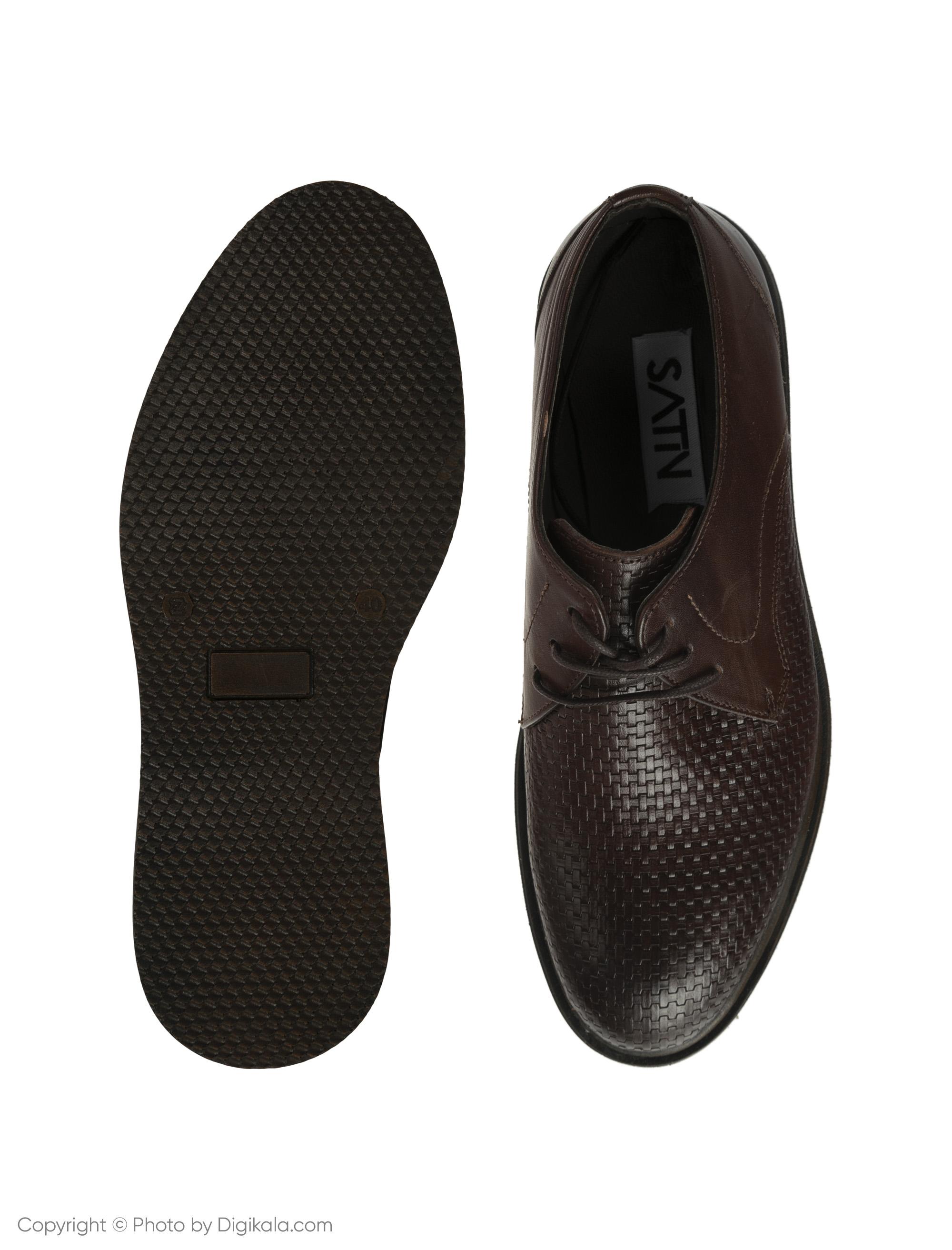 کفش مردانه ساتین مدل SN7170A-104 -  - 5