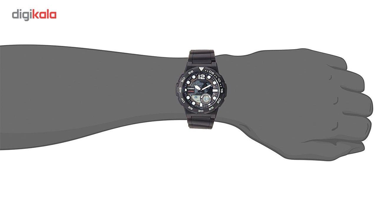 ساعت مچی عقربه ای مردانه کاسیو مدل AEQ-100W-1AVDF -  - 5