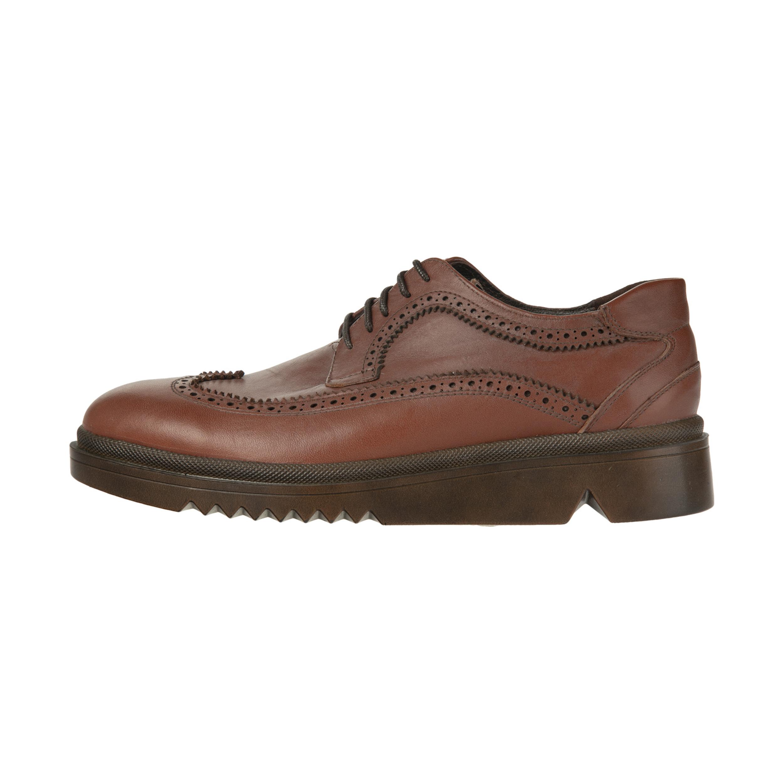 کفش مردانه ساتین مدل SN7160B-136