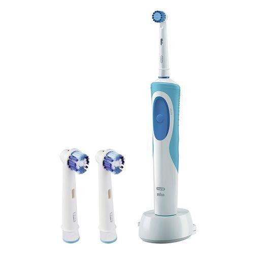 مسواک برقی اورال-بی مدل Vitality Sensitive Clean به همراه سری یدک مدل Precision Clean بسته 2 عددی