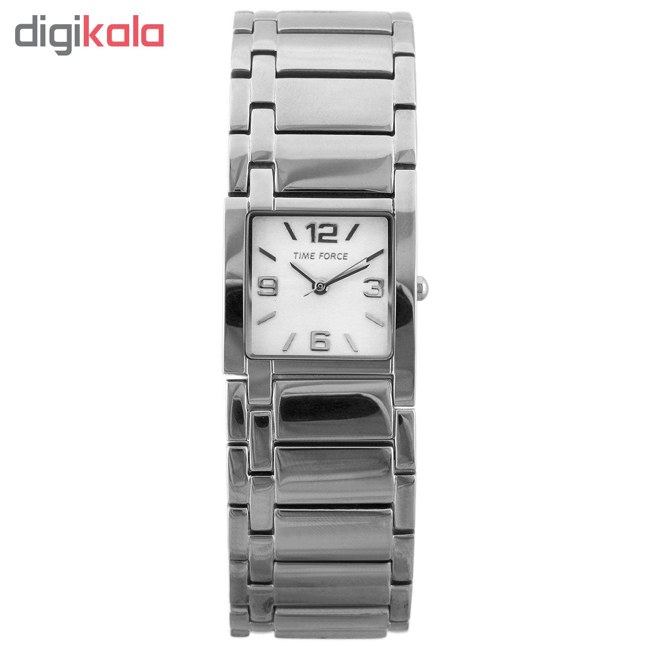 ساعت زنانه برند تایم فورس مدل TF3340L02M