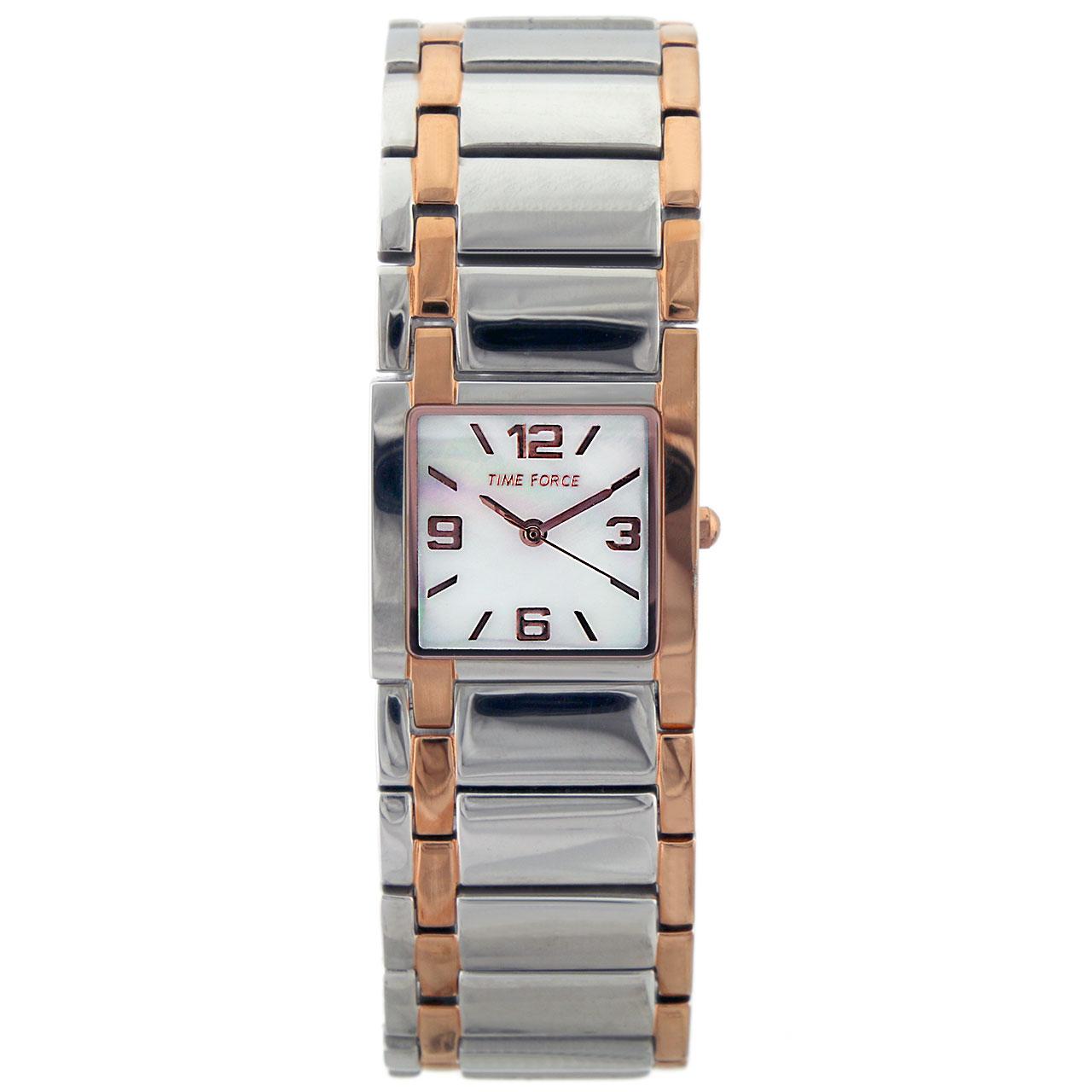 ساعت مچی عقربه ای زنانه تایم فورس مدل TF3340L09M