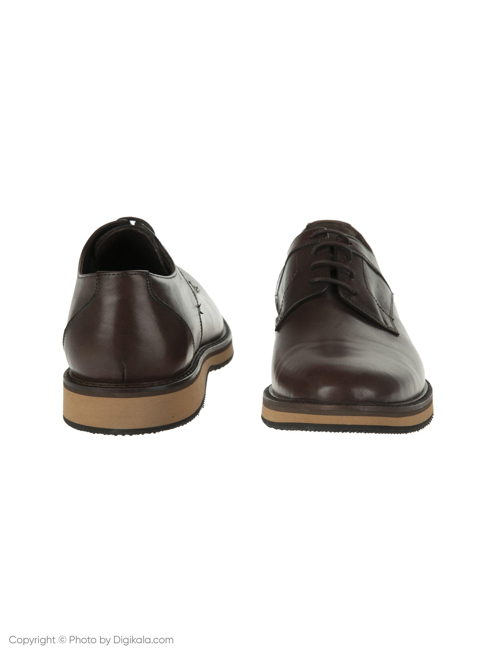 کفش مردانه ساتین مدل SN7179A-104 -  - 4