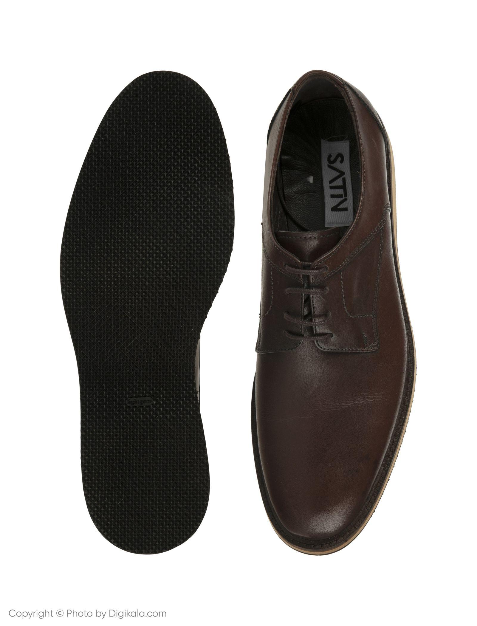 کفش مردانه ساتین مدل SN7179A-104 -  - 5