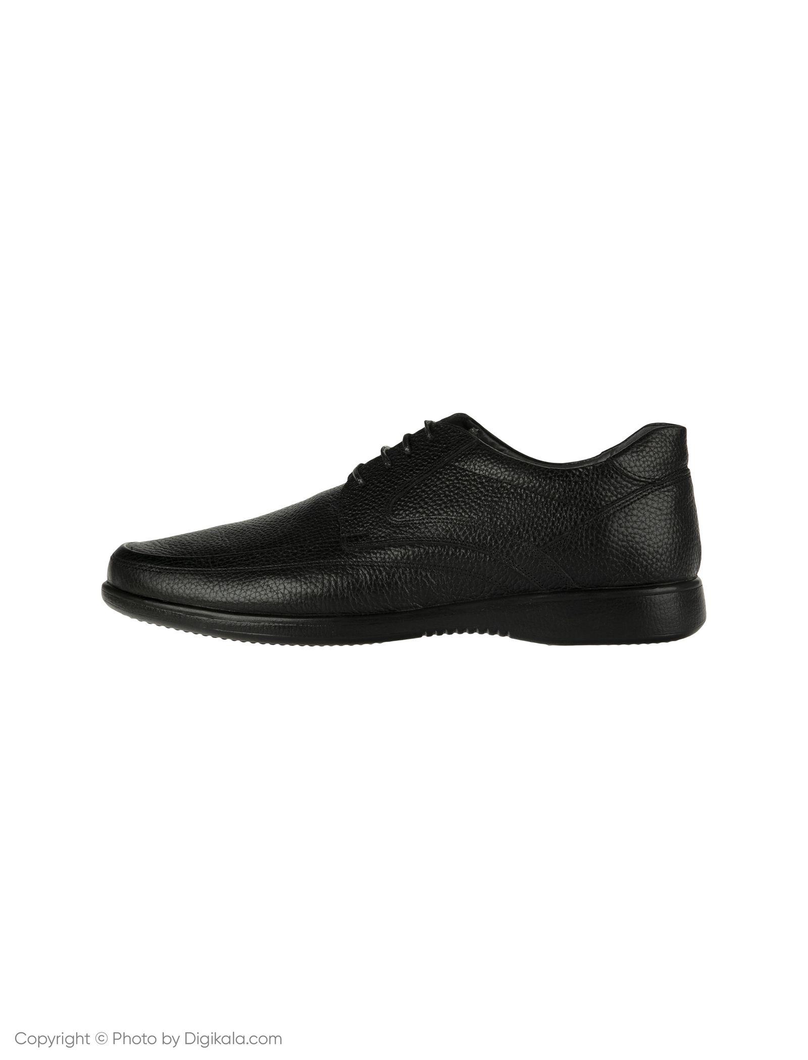 کفش مردانه ساتین مدل SN7193B-101 -  - 1
