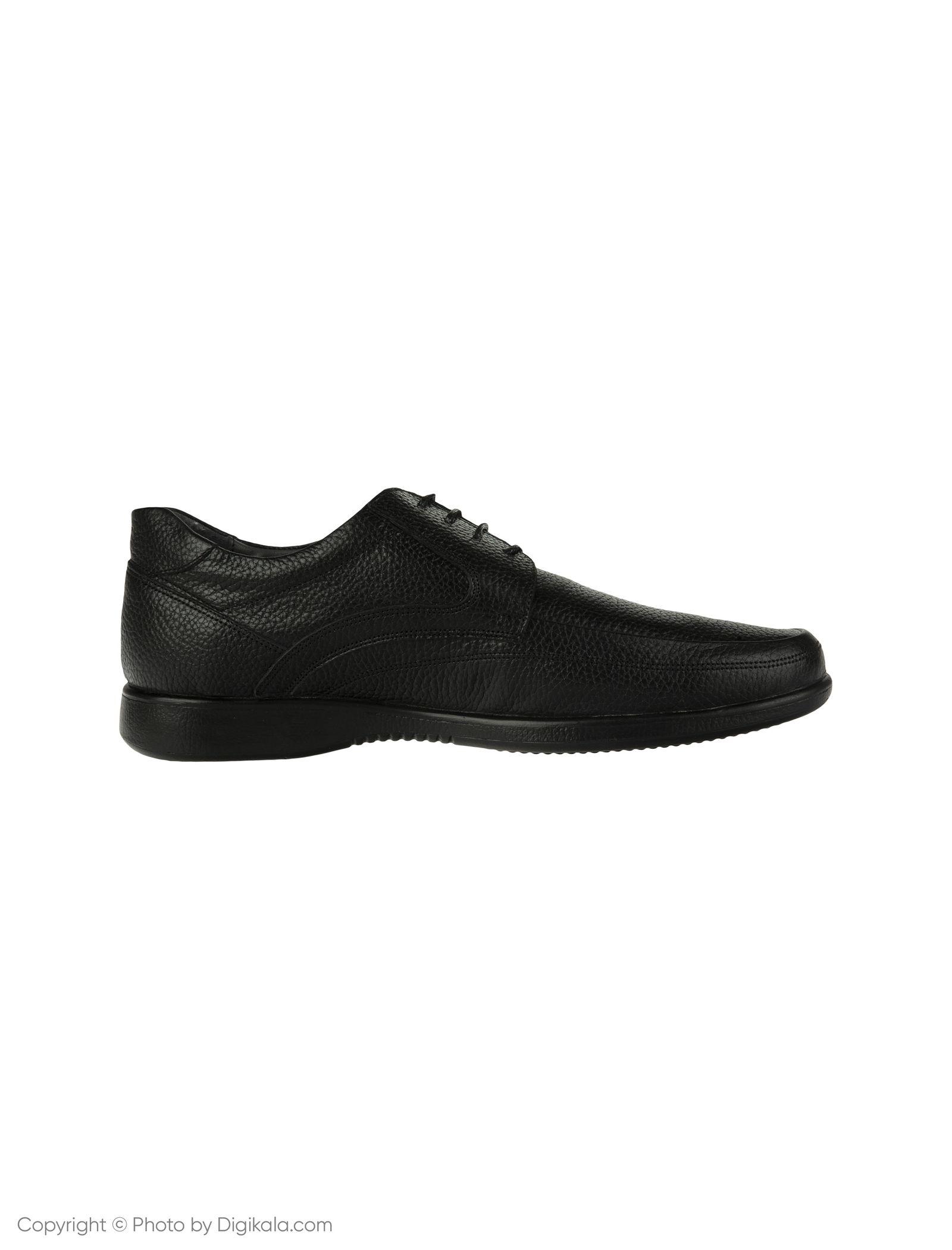 کفش مردانه ساتین مدل SN7193B-101 -  - 2