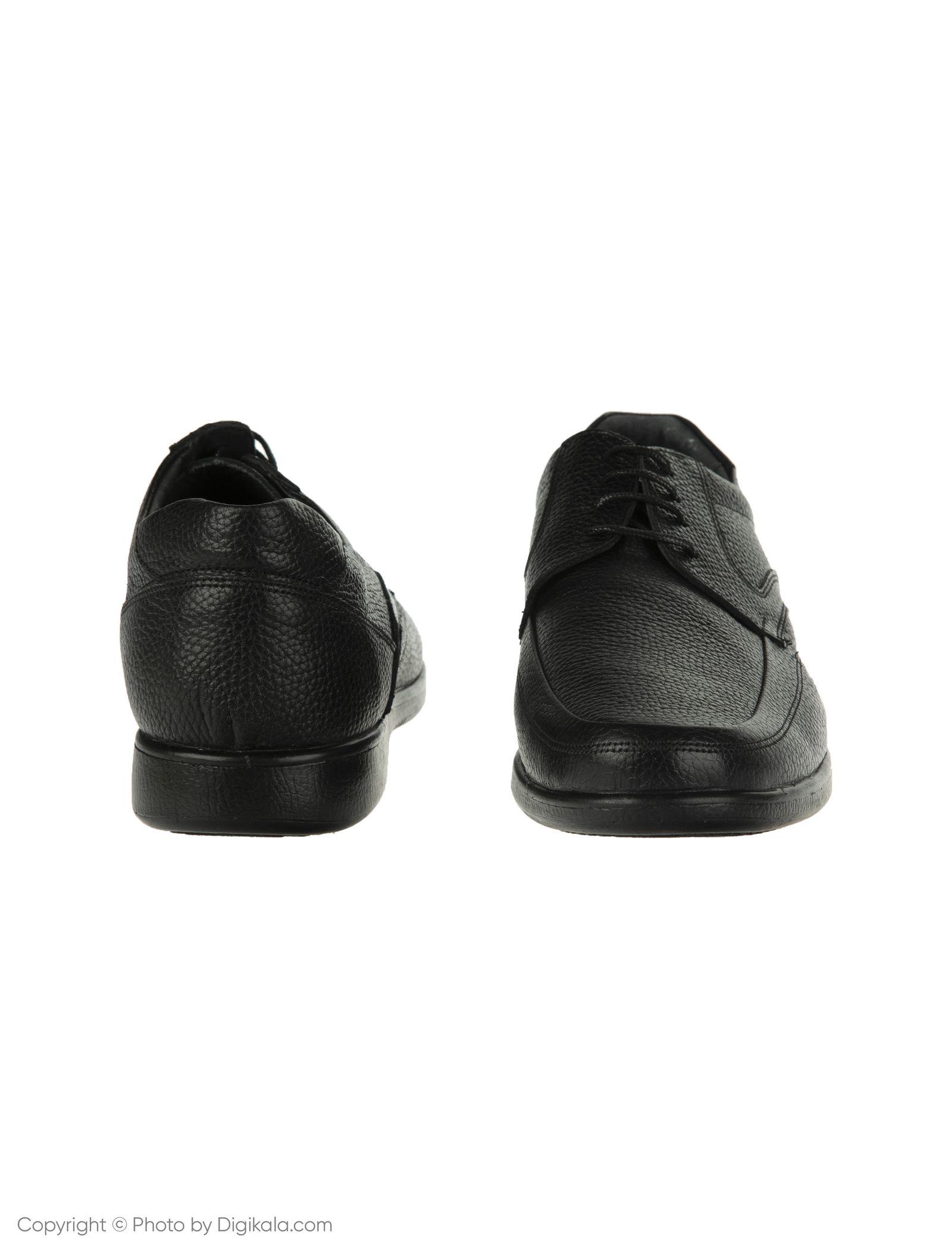کفش مردانه ساتین مدل SN7193B-101 -  - 4