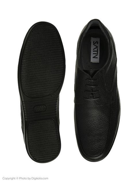کفش مردانه ساتین مدل SN7193B-101 -  - 5