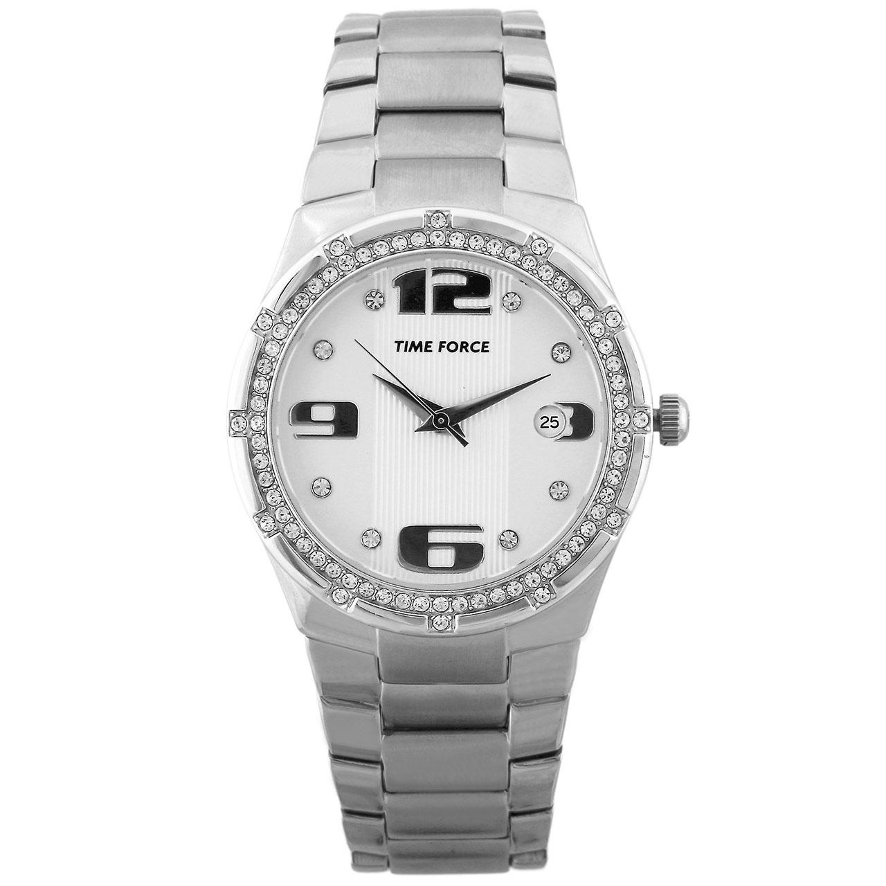 ساعت مچی عقربه ای زنانه تایم فورس مدل TF3371L02M