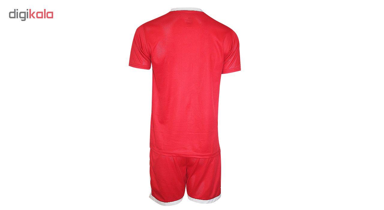 ست تی شرت و شلوارک ورزشی مردانه مدل AD5002re