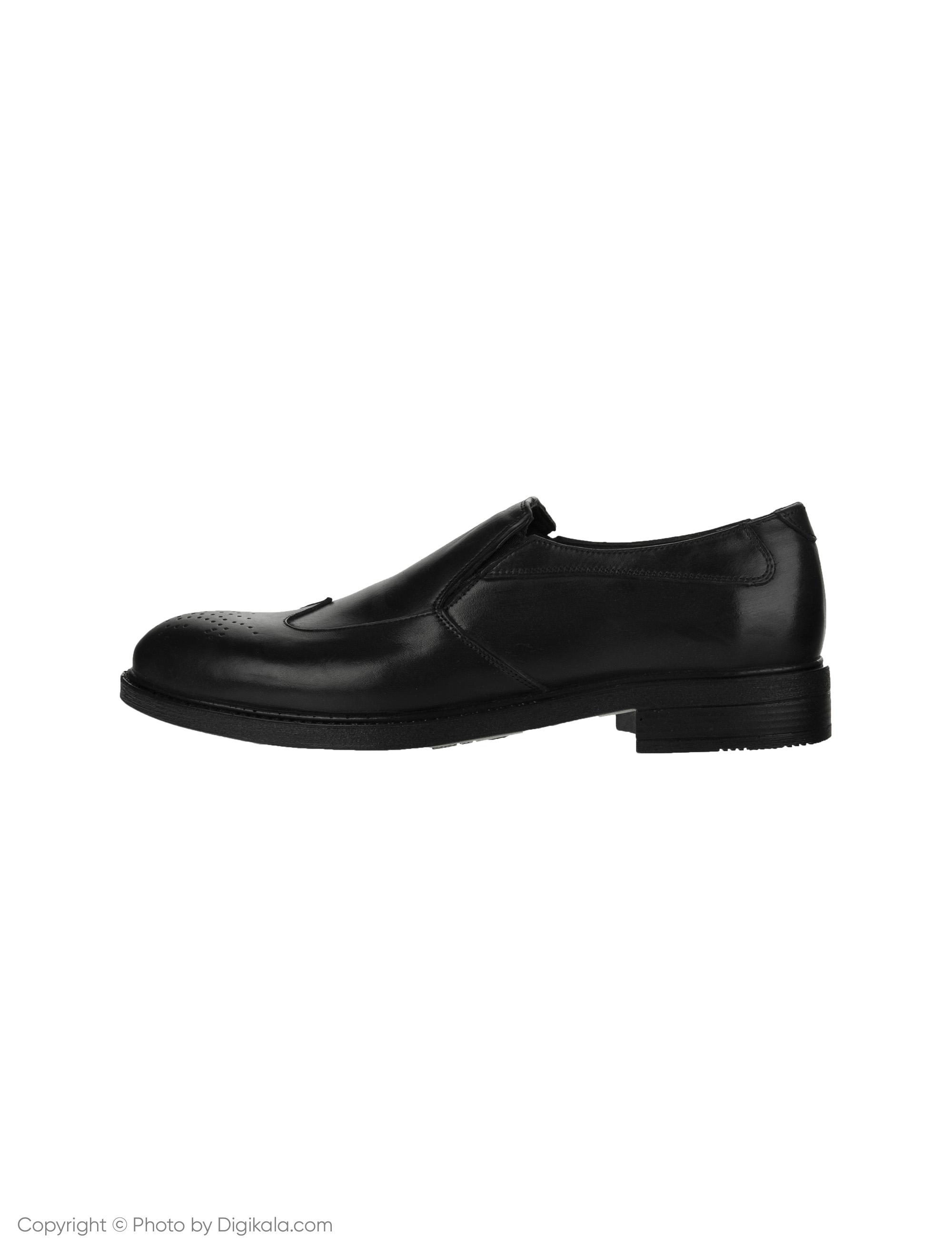 کفش مردانه ساتین مدل SN7162A-101 -  - 1