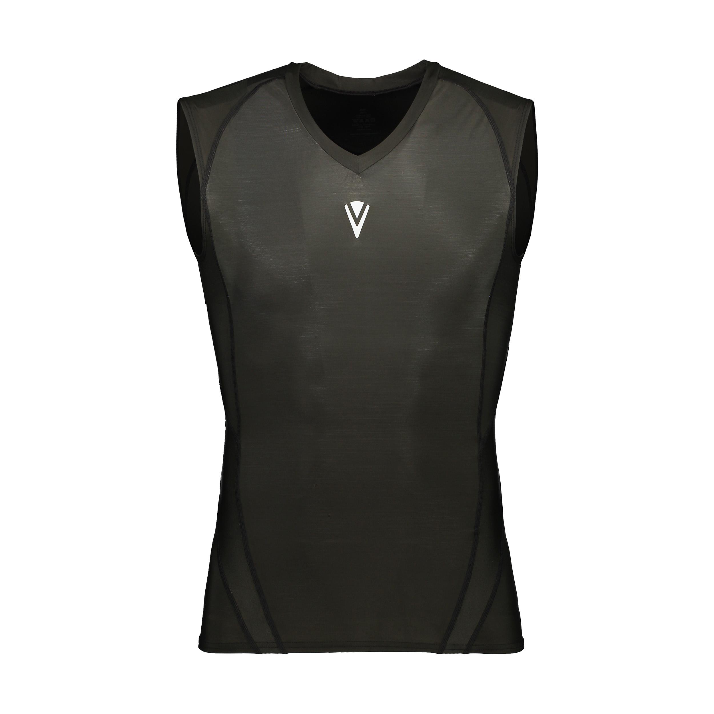 تاپ ورزشی مردانه وی اسکین مدل VSN-4010NT-SBK