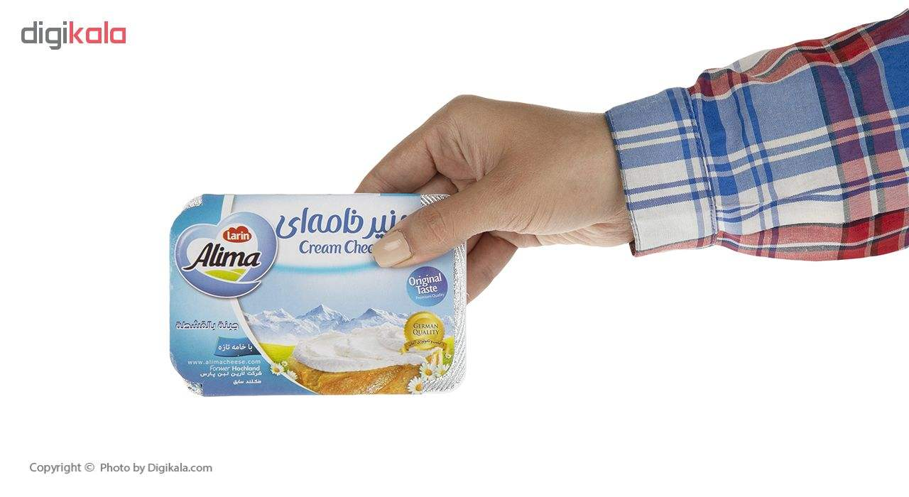 پنیر خامه ای کاور دار آلیما وزن 100 گرم main 1 4