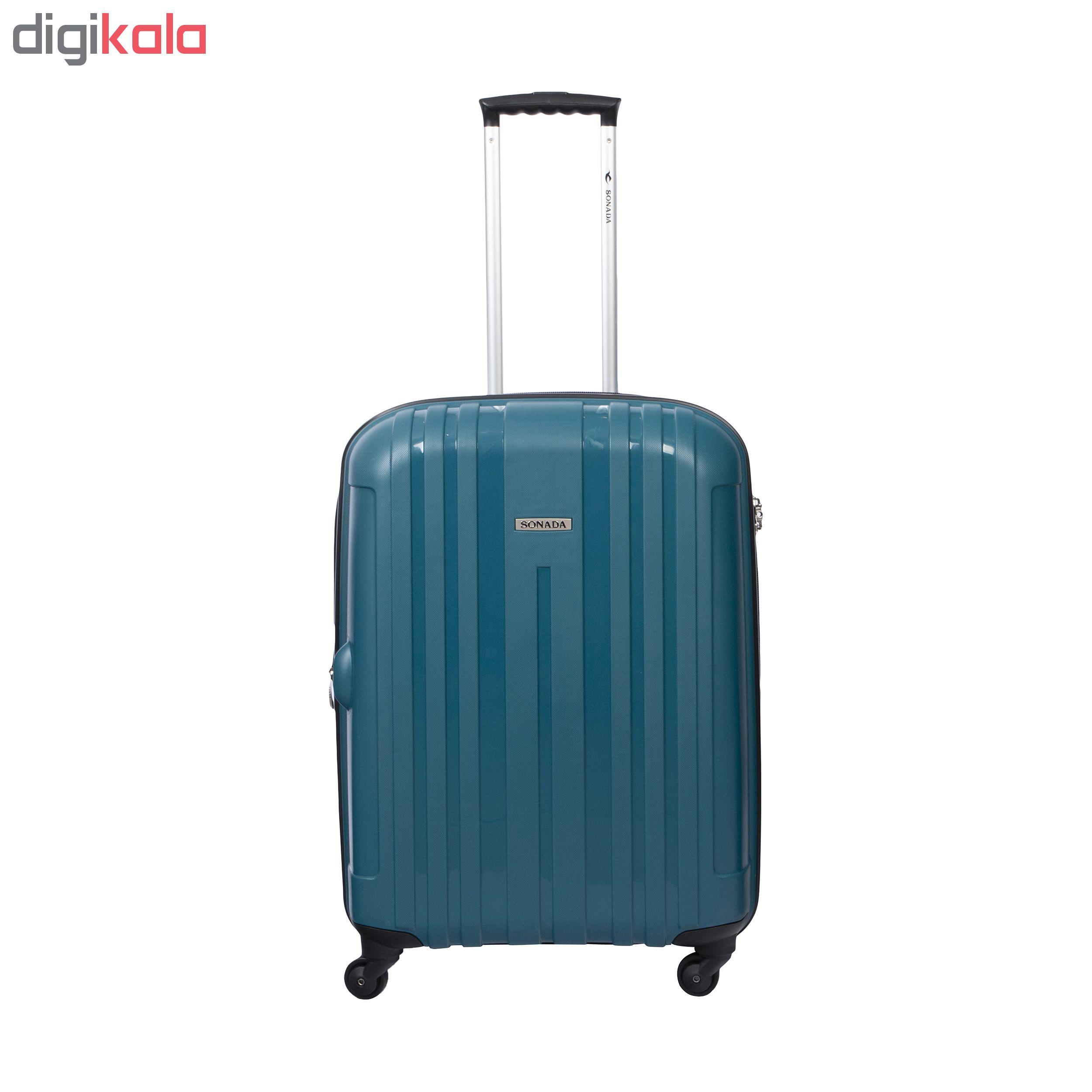چمدان سونادا مدل 1004سایز متوسط