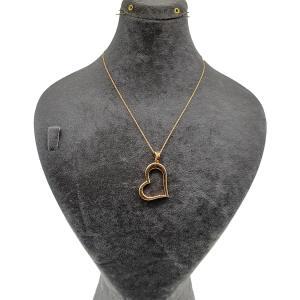 گردنبند طلا 18 عیار زنانه آزوریت کد H178