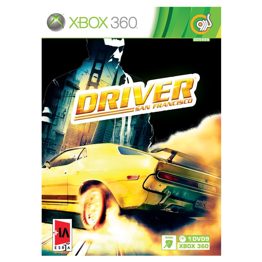 بازی Driver San Francisco مخصوص Xbox 360 نشر گردو