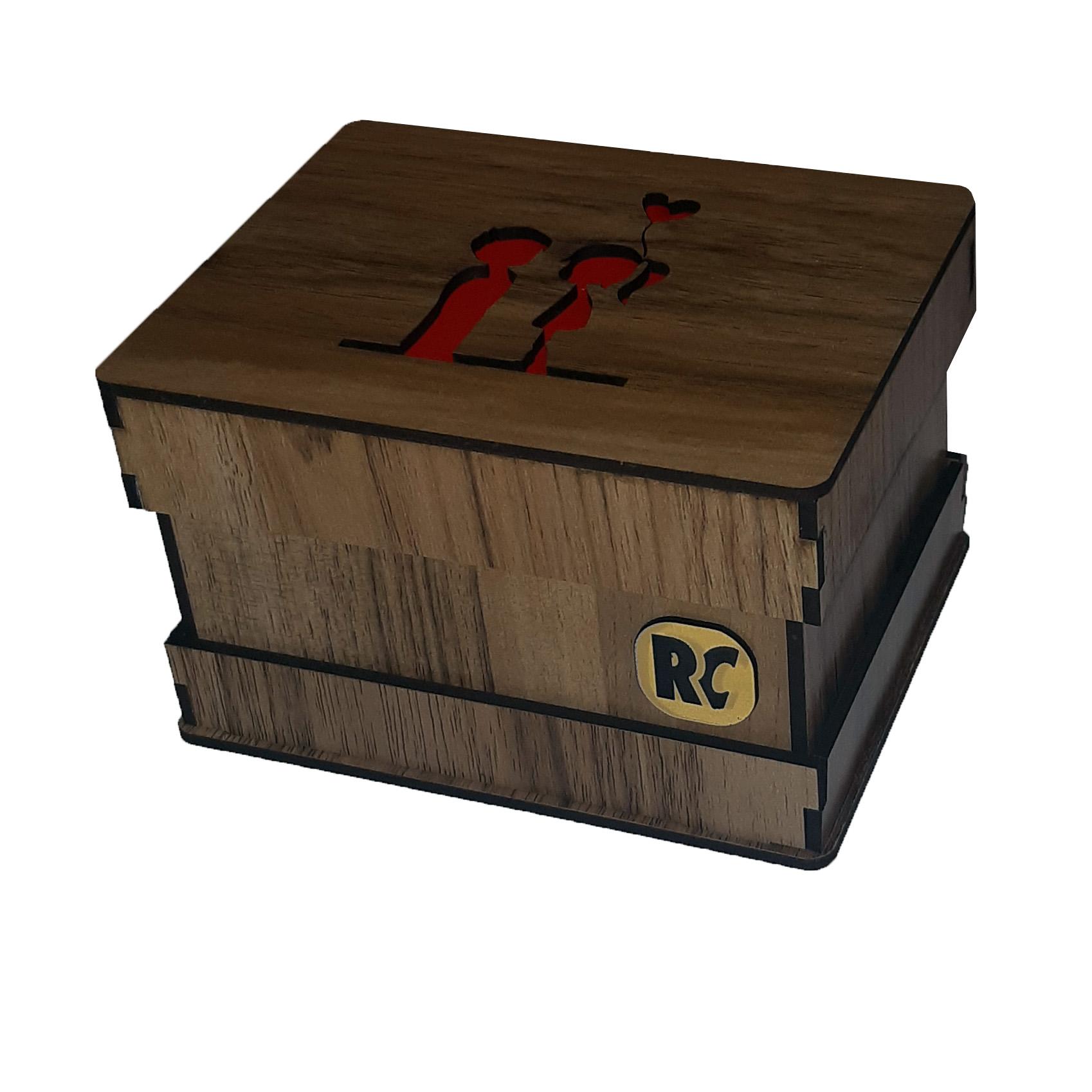 جعبه هدیه آرسی طرح عشق کودکانه