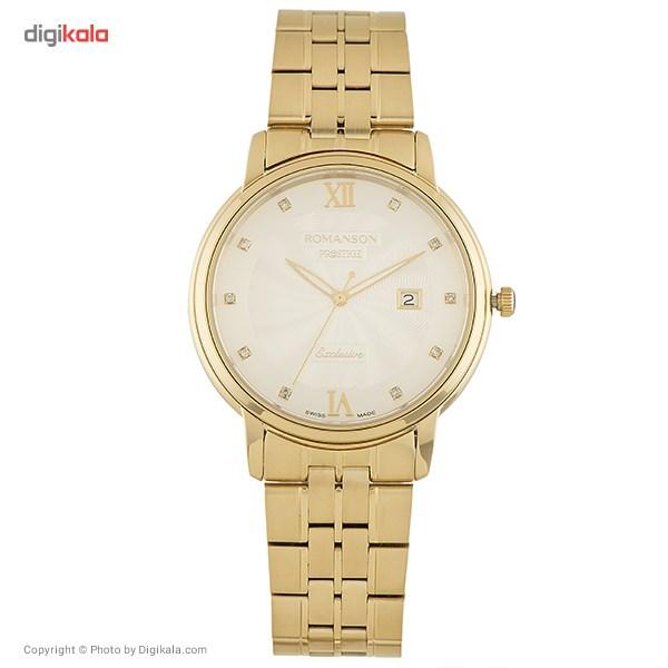 ساعت مچی عقربه ای مردانه رومانسون مدل TM3257MM1GAS1G