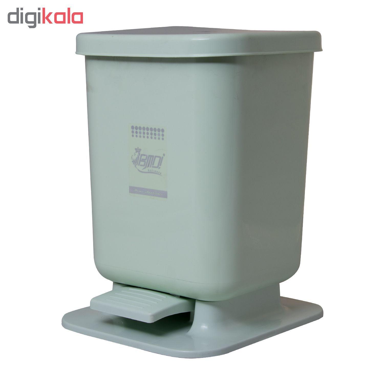 سطل زباله پدالی بی ام دی ! مدل کلین main 1 2