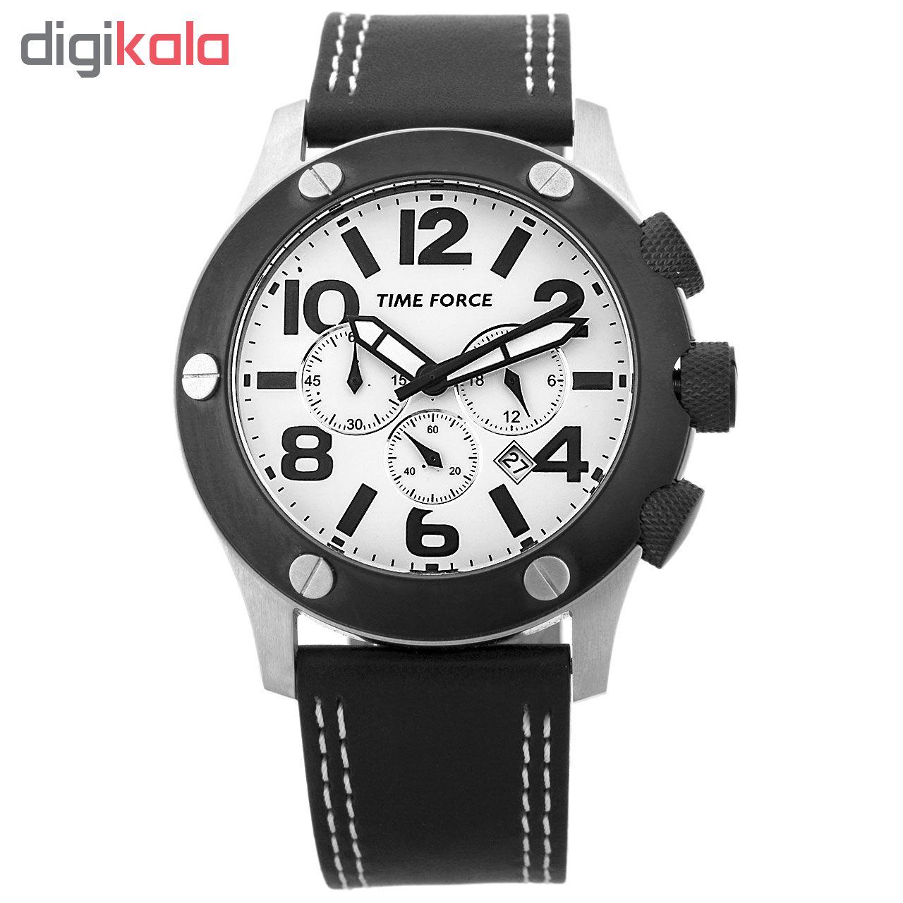 ساعت مچی عقربه ای مردانه تایم فورس مدل  TF3089M02