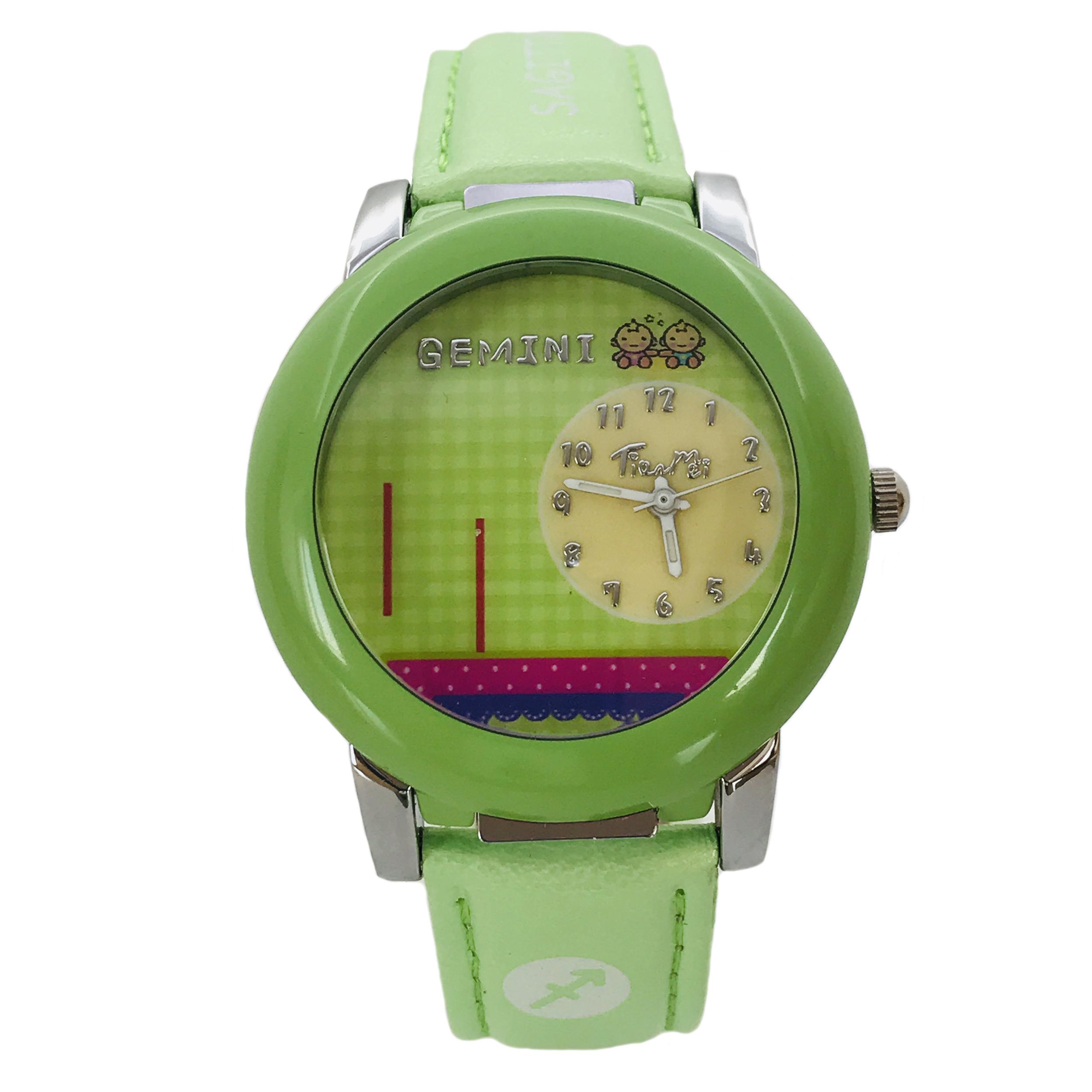 ساعت مچی عقربه ای دخترانه تیانمی مدل TM-K027G