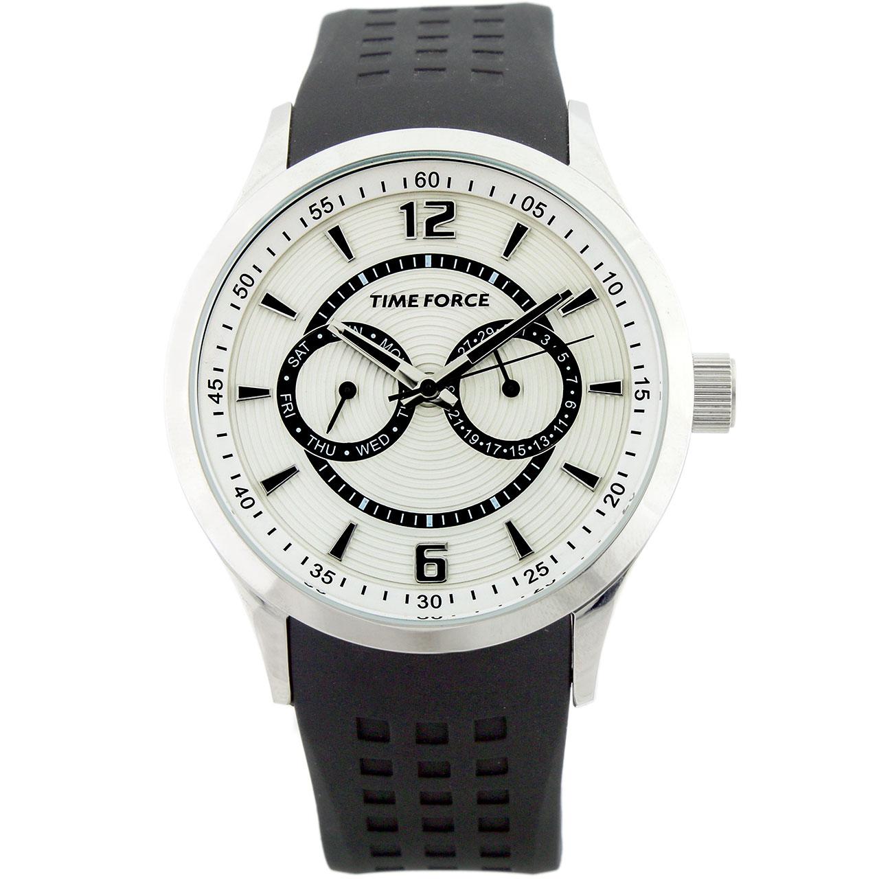 ساعت مچی عقربه ای مردانه تایم فورس مدل TF3168M02